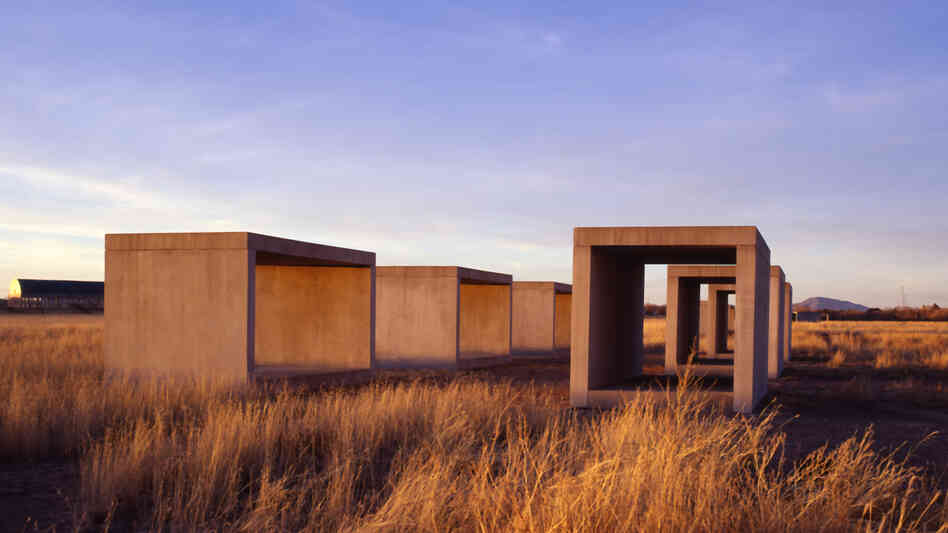 In the 1970s, minimalist artist Donald Judd moved to Marfa, Texas, where he created giant works of art that bask beneath vast desert skies. In the years since, Marfa has emerged as a hot spot for art tourism.