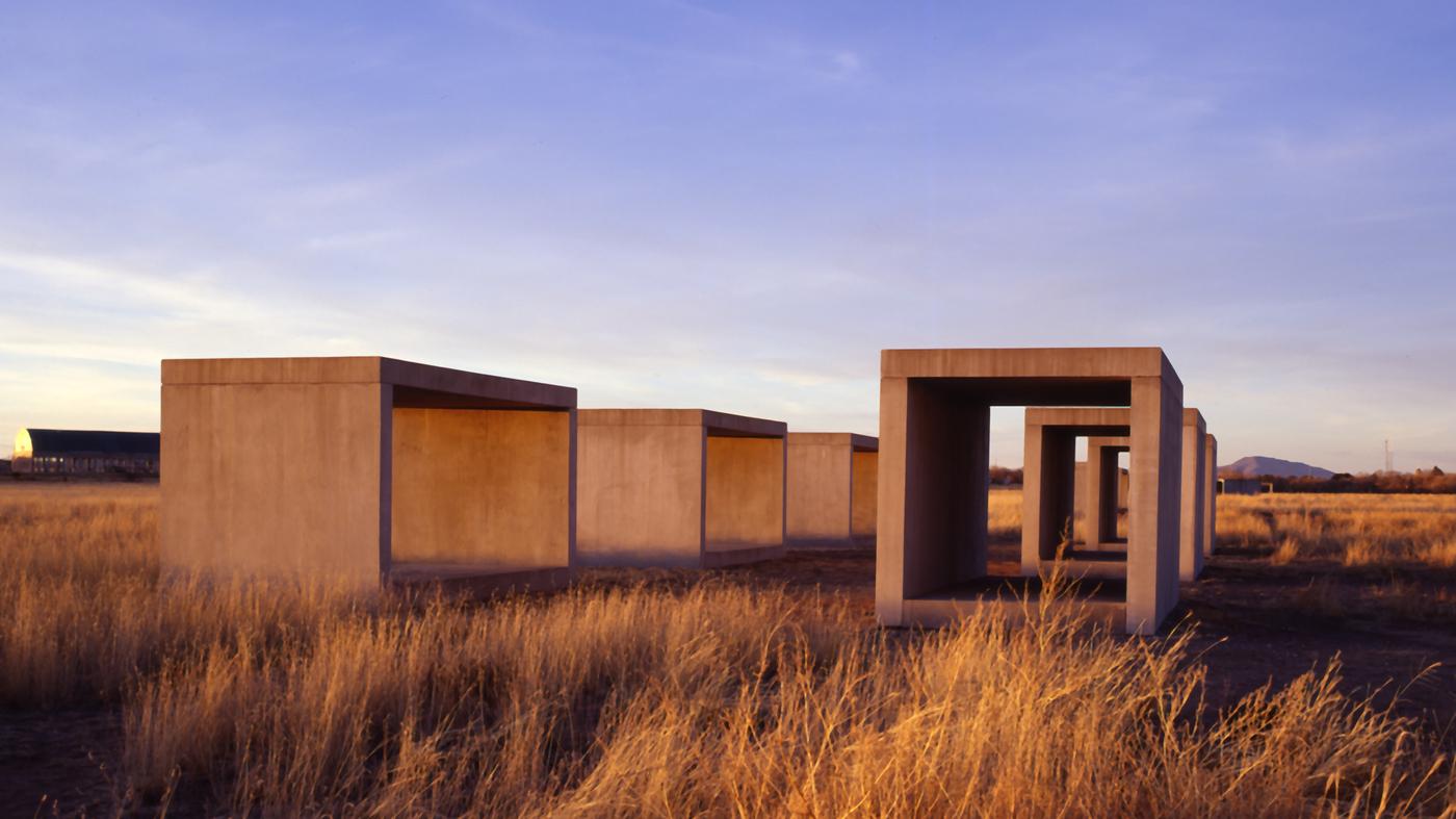 Marfa, Texas: An Unlikely Art Oasis In A Desert Town : NPR | 1400 x 787 jpeg 741kB