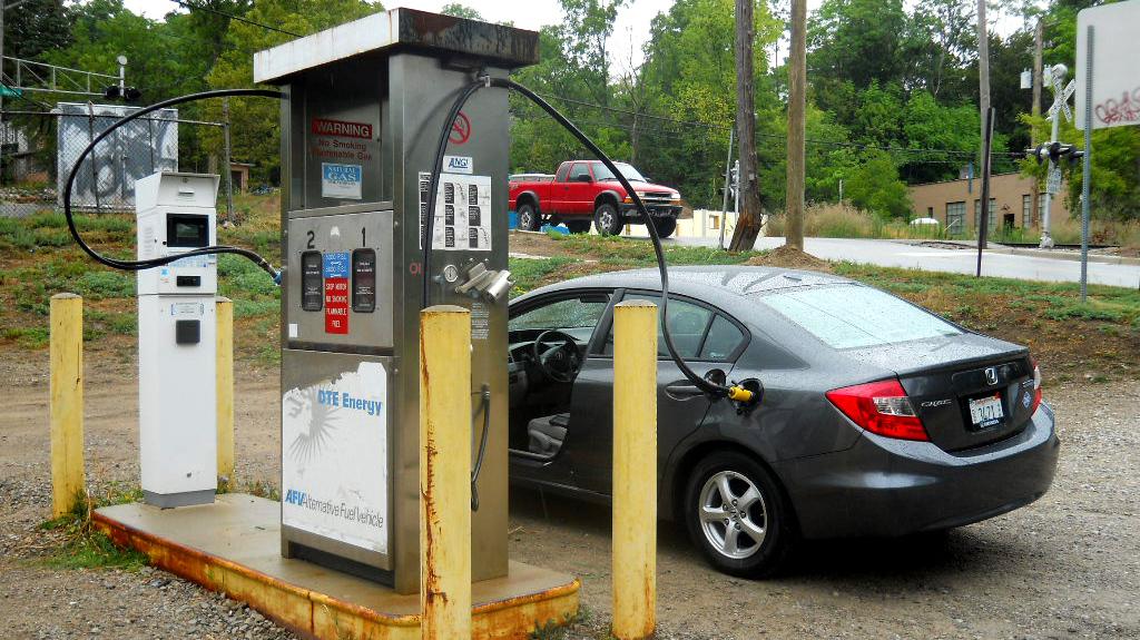 States Ask Detroit: 'Build Us A Natural Gas Car, Please' : NPR