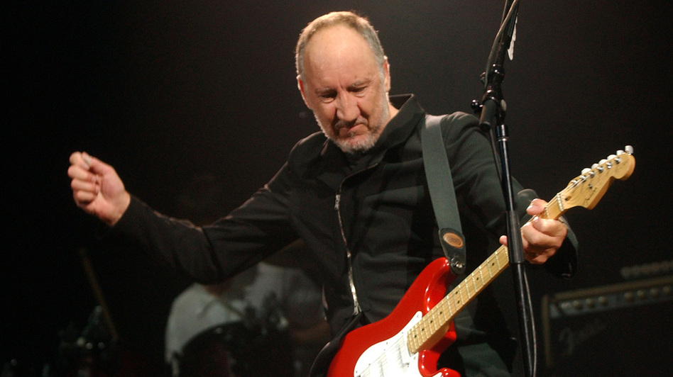 Pete Townshend of The Who. Fans in Providence have waited 33 years to see him. (Reuters /Landov)