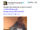 """Bought This"" — Young Buck Tweet"