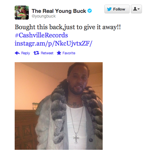 """""""Bought This"""" — Young Buck Tweet"""