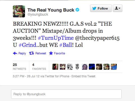 """""""Breaking Newz"""" — Young Buck"""