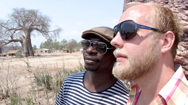 Malawian singer Esau Mwamwaya and Swedish producer Johan Hugo met in a London thrift shop and soon became musical collaborators as The Very Best. (David Harrison)