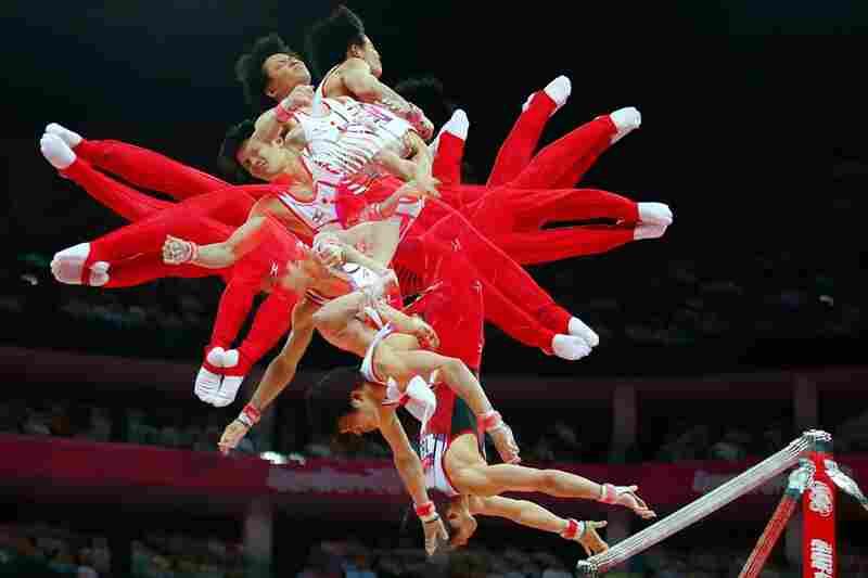 Yusuke Tanaka of the Japanese gymnastics team