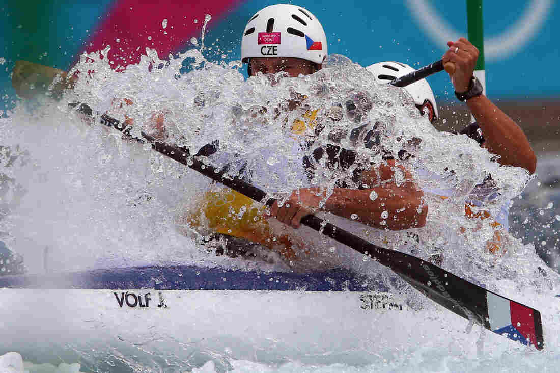 Canoe Slalom, a sport which exists.