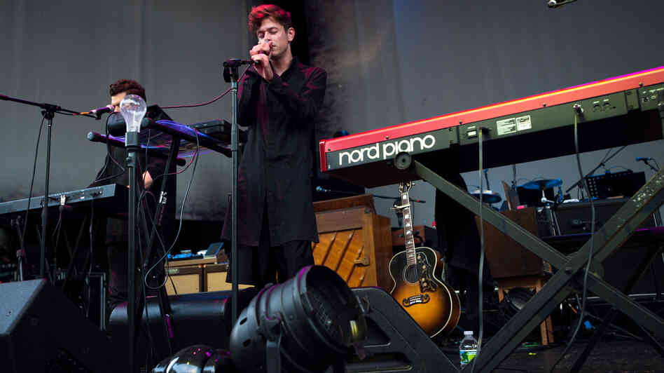 Perfume Genius performs live at Celebrate Brooklyn from the Prospect Park Bandshell stage.