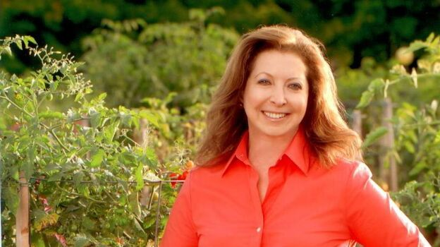 Amy Goldman, known for her gardens and her illustrated coffee-table books about plants, has donated $1 million to a pro-Obama superPAC. (Sandi Fellman)
