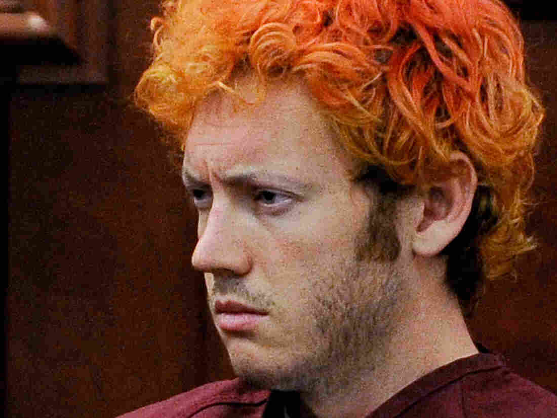 James Holmes, who's accused of killing 12 people and wounding 58.