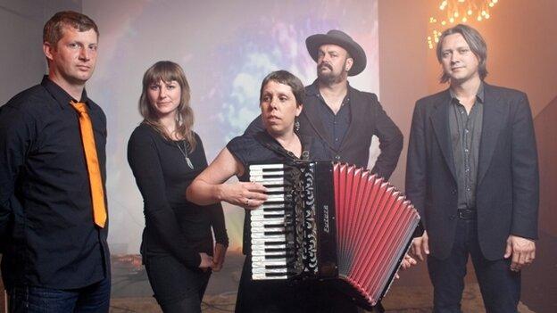 Black Prairie is a bluegrass band from Portland, Oregon.
