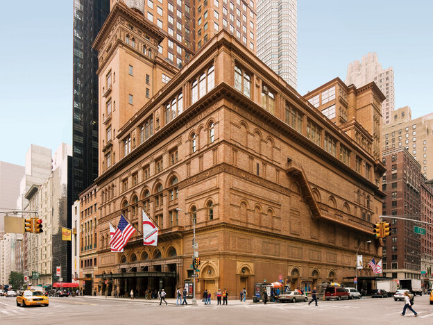 Stern Auditorium/Perelman Stage at Carnegie Hall: one of the world's greatest stages.