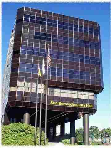 San Bernardino City Hall.