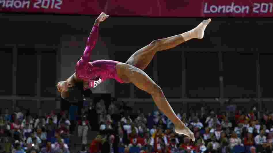 U.S. gymnast Gabrielle Douglas won the gold medal in the women's individual all-around final in London Thursday.