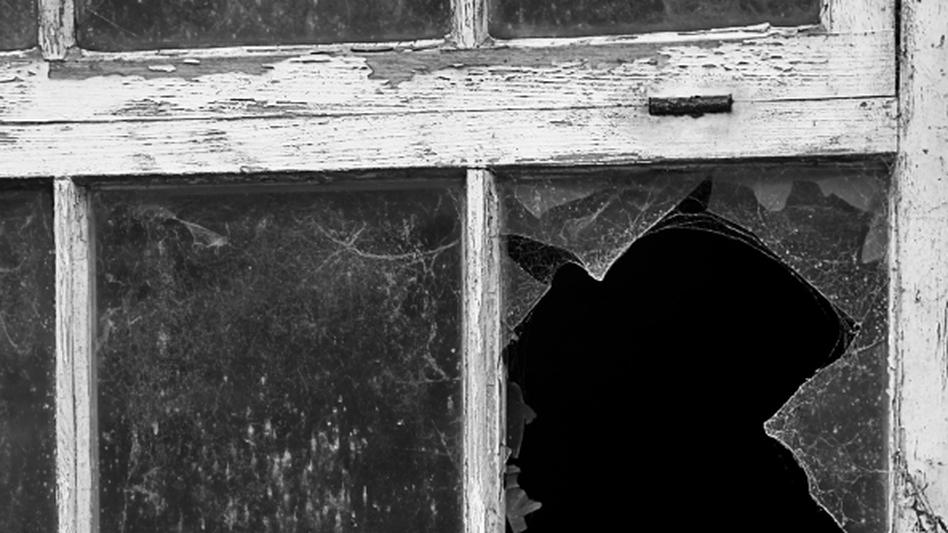 Broken window. (iStockphoto.com)
