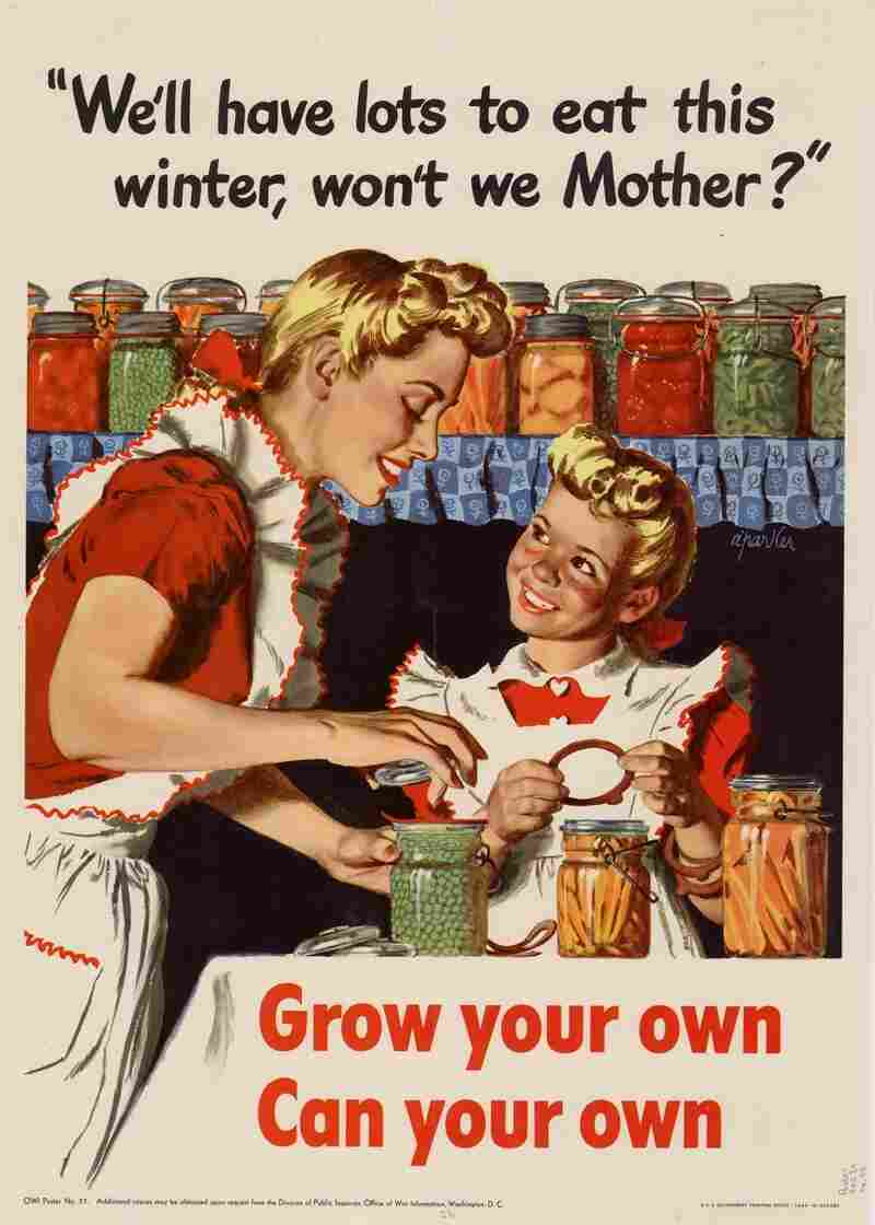 "Parker, Alfred, 1906-1985.. ""We'll have lots to eat this winter, won't we Mother?"" : grow your own, can your own.. Washington, D.C.. UNT Digital Library. http://digital.library.unt.edu/ark:/67531/metadc556/. Accessed July 31, 2012."