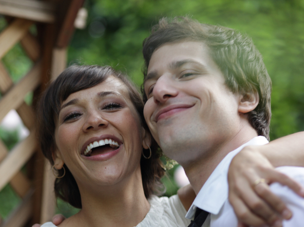 Rashida Jones and Andy Samberg are Celeste and Jesse, a couple who try to stay friends after their marriage ends. Jones co-wrote <em>Celeste and Jesse</em> <em>Forever </em>with Will McCormack, who has a supporting role in the film.