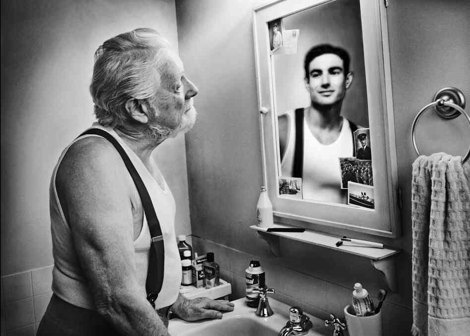 Does the mirror reflect how you feel the picture show npr for Looking mirror