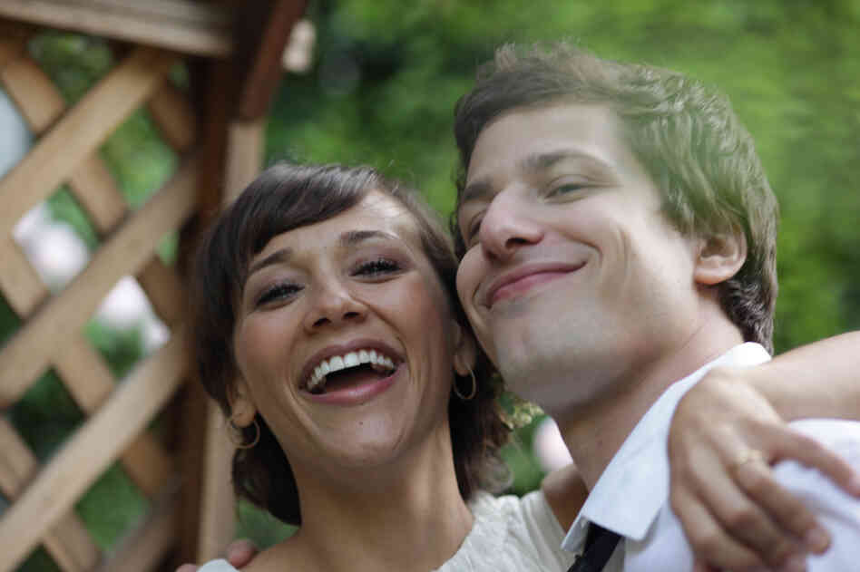 Rashida Jones and Andy Samberg are Celeste and Jesse, a couple who try to stay friends after their marriage ends. Jones co-wrote Celeste and Jesse Forever with Will McCormack, who has a supporting role in the film.