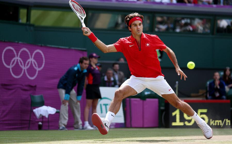 Roger Federer 2012 Olympics - image 6