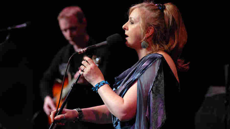 Moya Brennan performs on Mountain Stage.