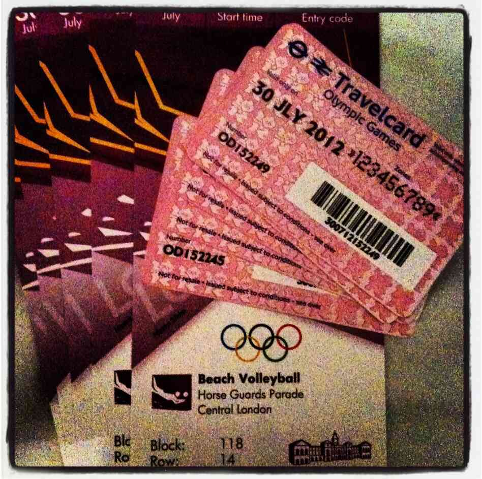 Tickets to London 2012 events come with a travel pass.