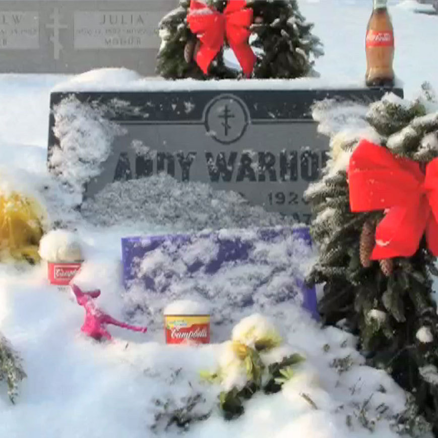 Madelyn Roehrig has photographed Andy Warhol's grave, and the objects fans leave there, almost daily since 2009.