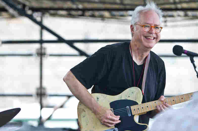 Guitarist Bill Frisell performs a set of John Lennon tunes at the 2012 Newport Jazz Festival.