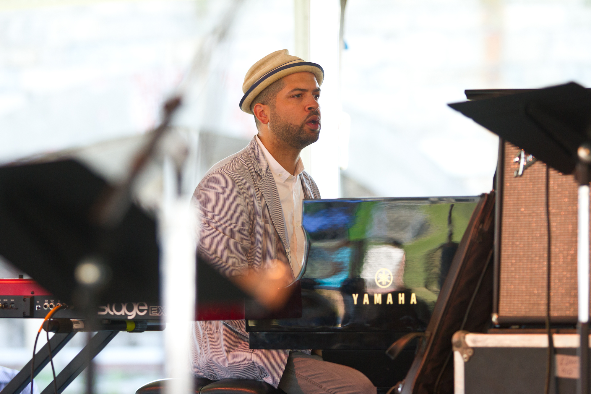 "Jason Moran played with the Jack DeJohnette All-Stars, which prompted A Blog Supreme's Patrick Jarenwattananon tweet this song title pun: ""Gangsterism on Narragansett Bay."""