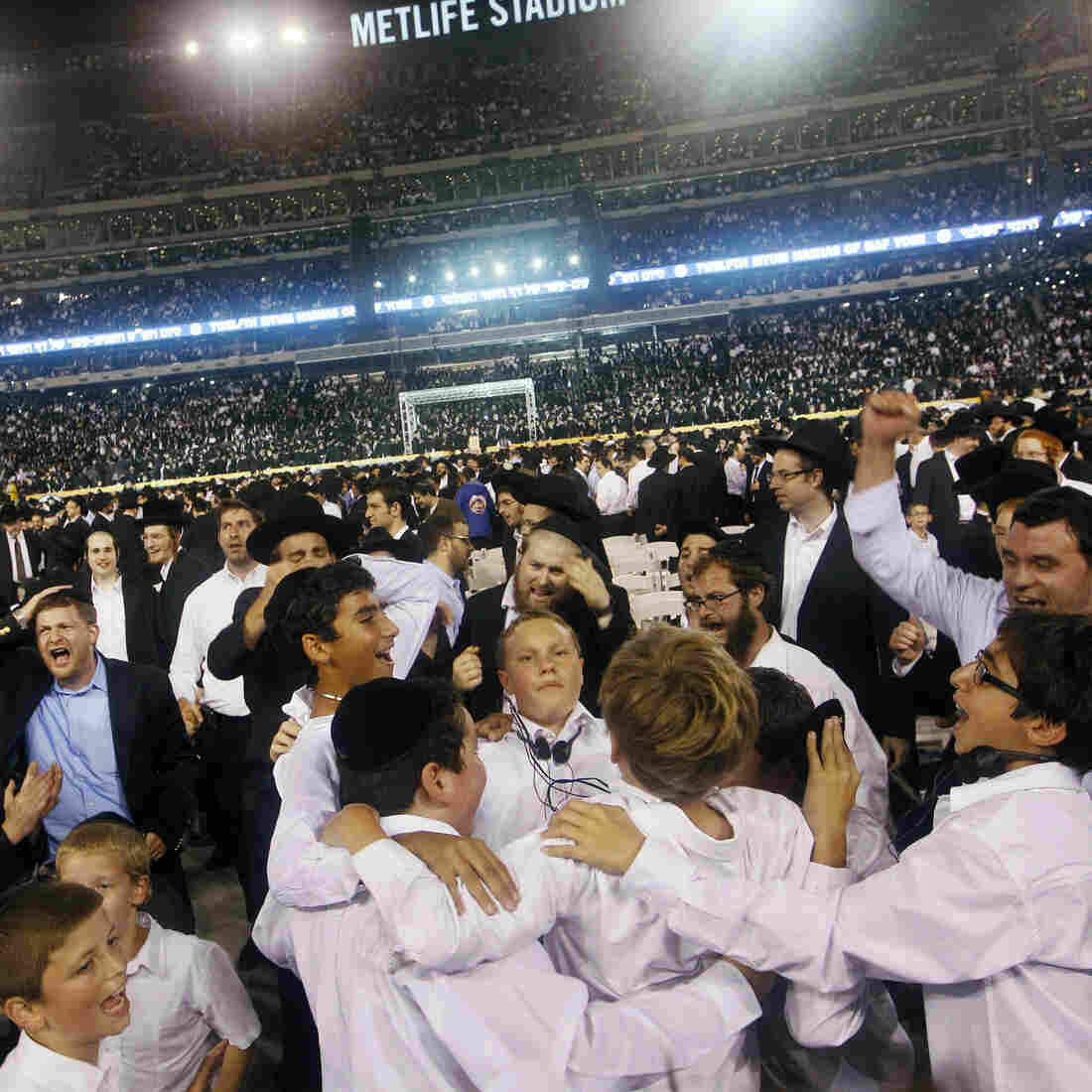 Jewish 'Super Bowl' Praises Years Of Talmudic Study