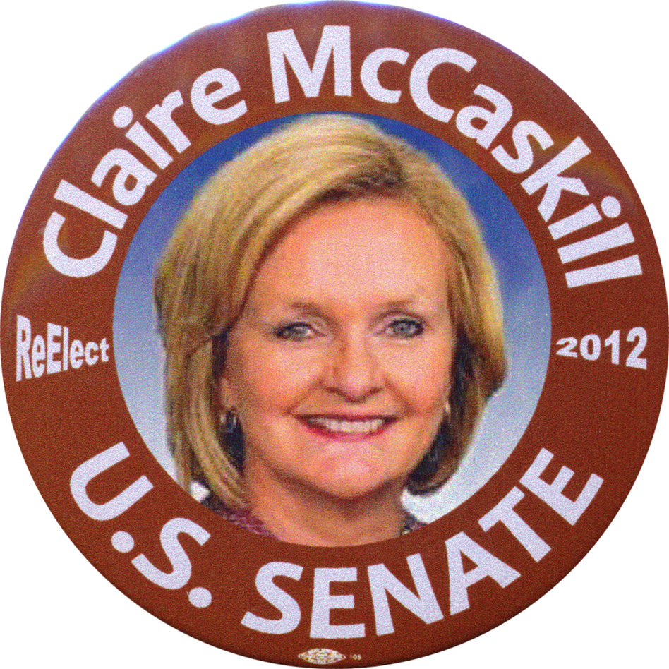 Polls show McCaskill trailing all three GOP candidates. (Ken Rudin collection)