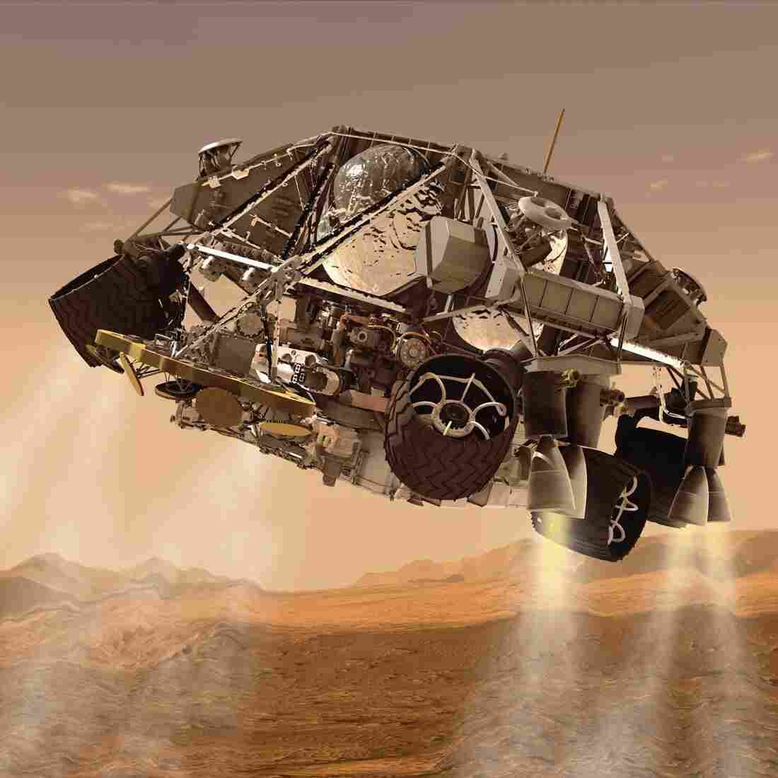 Waiting For A Sign: Mars Rover To Land On Its Own