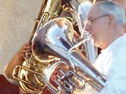 Horn players in the Camarillo Community Band.