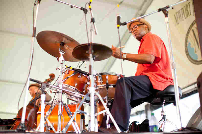Drummer Lewis Nash performed several times at Newport as a sideman, but was also given the opportunity to lead his own quintet during the first performance on Sunday morning. His frequent associate, Peter Washington, held down the bass chair ably.