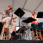 John Hollenbeck's Claudia Quintet performs at the 2012 Newport Jazz Festival.