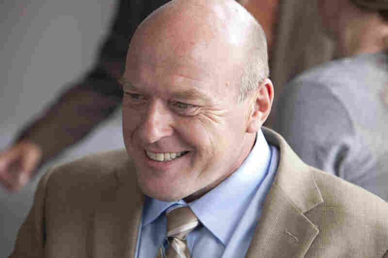 "Dean Norris plays DEA agent Hank Schrader in AMC's Breaking Bad. ""He's a good cop, he just hasn't put the pieces together yet,"" Norris says."