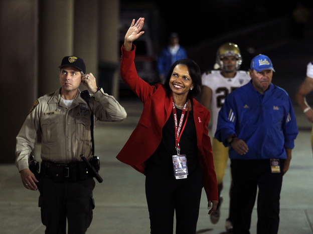 Condoleezza Rice says her dream job would be NFL Commissioner. Would she want a VP post instead?