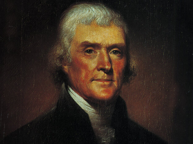 Thomas Jefferson loved the decimal system.