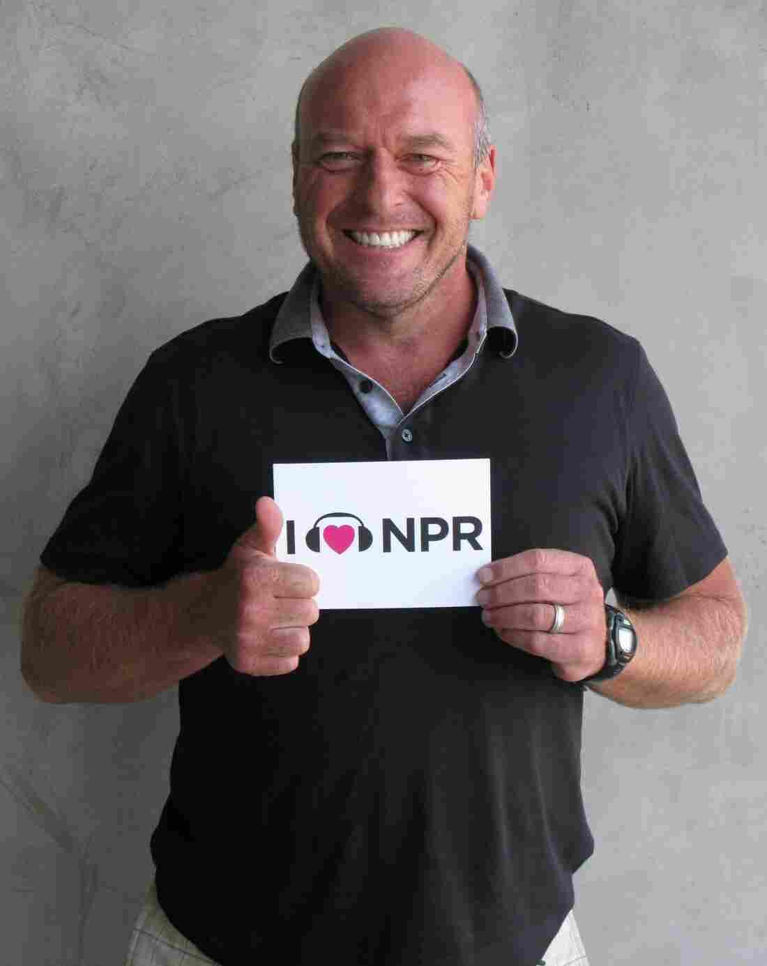 Dean Norris at NPR West.