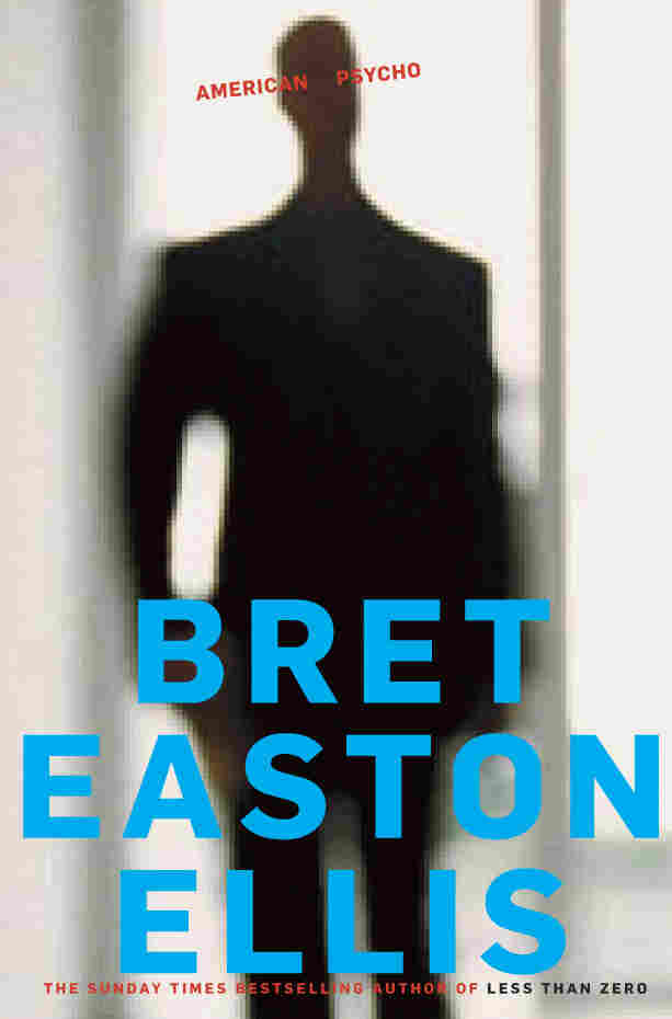 "American Psycho by Bret Easton Ellis: ""It always bothered me that the original cover of this book showed the main character's face so clearly straight-on. In fiction covers, I always want to give readers the chance to create what the characters look like in their minds as they read."""