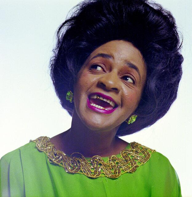 Clara Ward, one of gospel's greatest divas and Aretha Franklin's favorite singers.