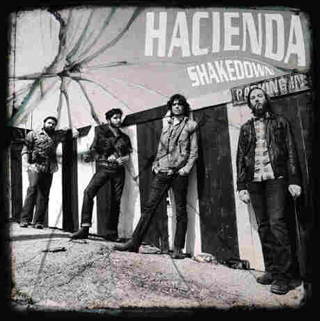 The artwork for Hacienda's Shakedown.
