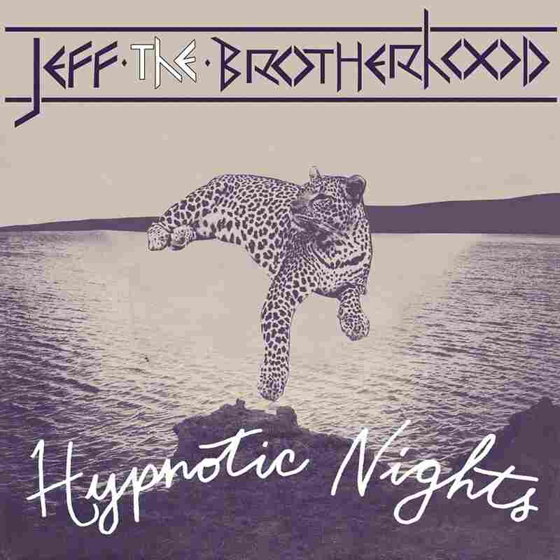The artwork for JEFF The Brotherhood's Hypnotic Nights.