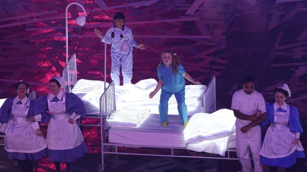 The Opening Ceremony of the London 2012 Olympic Games included a paean to the National Health Service, the U.K.'s socialized healthcare system. (Getty Images)