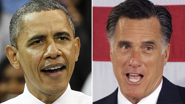 For Romney to win the election, he is going to have to pick off some big states from Obama's 2008 tally. (AP)