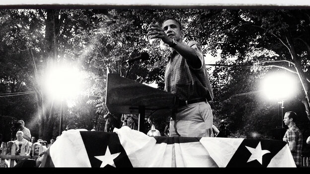 President Obama delivers remarks at a campaign event on July 5 in Parma, Ohio.