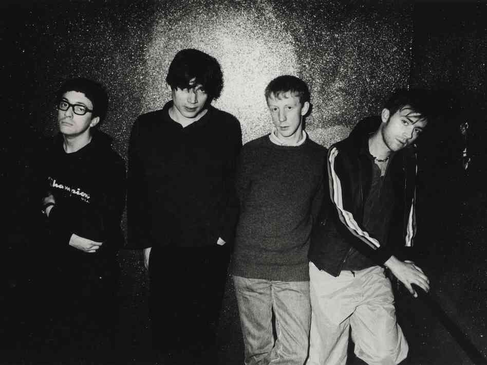 Blur, from left: Graham Coxon, Alex James, Dave Rowntree and Damon Albarn.