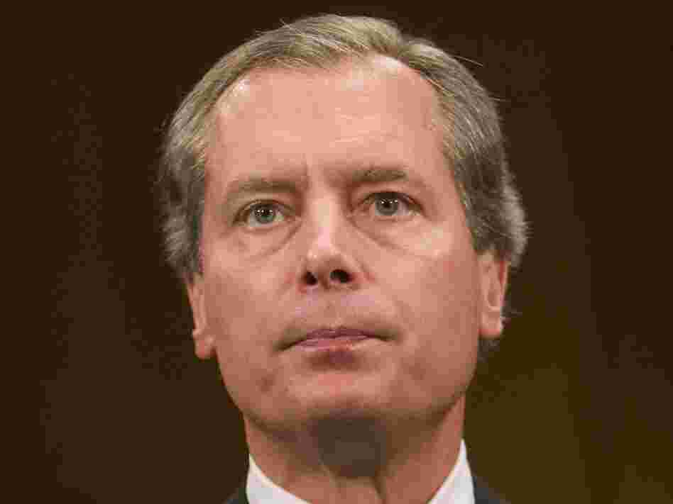 Texas Lt. Gov.  David Dewhurst testifies on Capitol Hill September 23, 2008. Dewhurst was defeated last week by Tea Party favorite Ted Cruz in a run-off election to be the Texas Republican nominee for the U.S. Senate.
