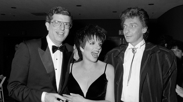 Marvin Hamlisch (left) with Liza Minnelli and Barry Manilow in 1987. (Time Life Pictures/Getty Images)