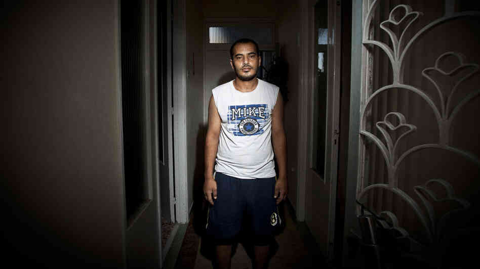 Abouzeid Mubarak, 28, arrived in Greece six months ago. But after being viciously assaulted, the father of three says he is thinking of returning home to Egypt.