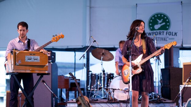 Sharon Van Etten live from the Newport Folk Festival